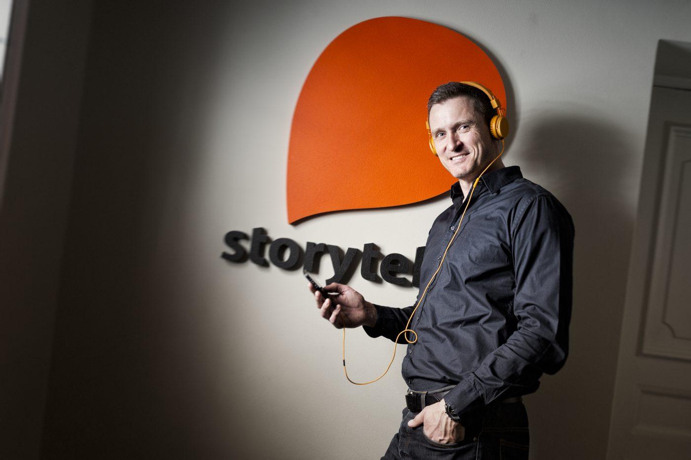 Jonas Tellander, grundare av Storytel