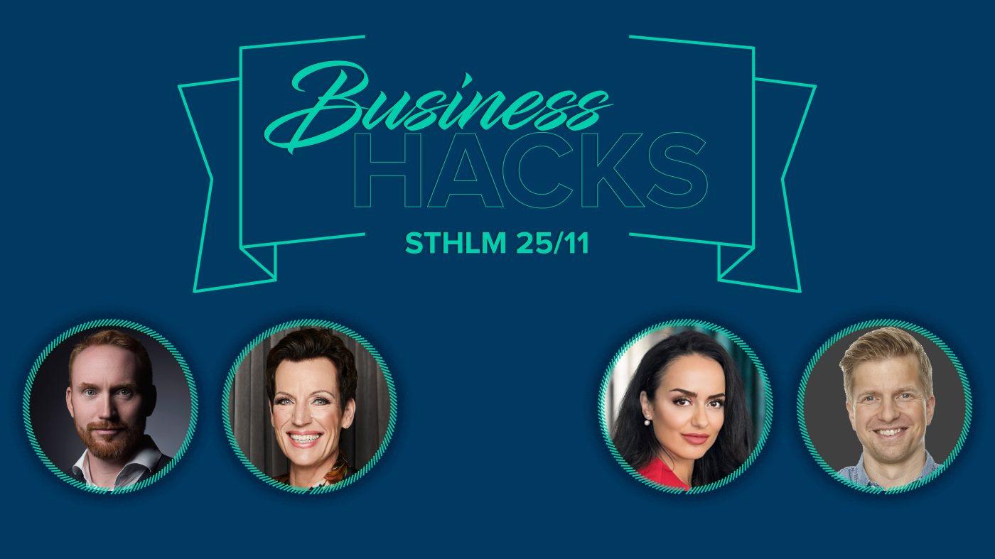 Business Hacks Stockholm 2019