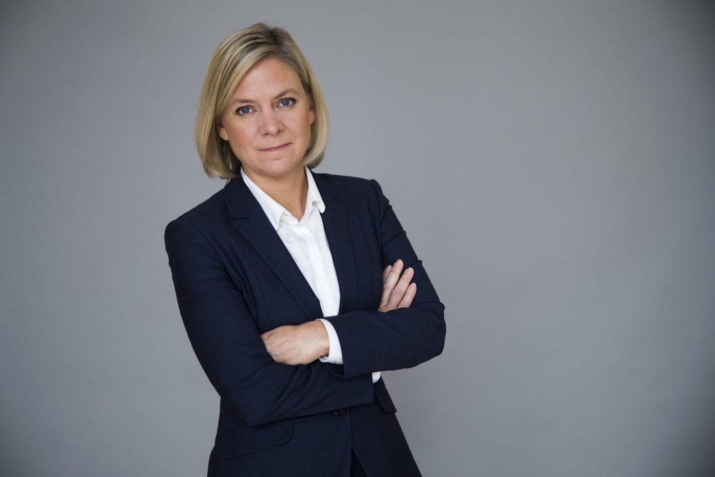 Magdalena Andersson Coronaviruset