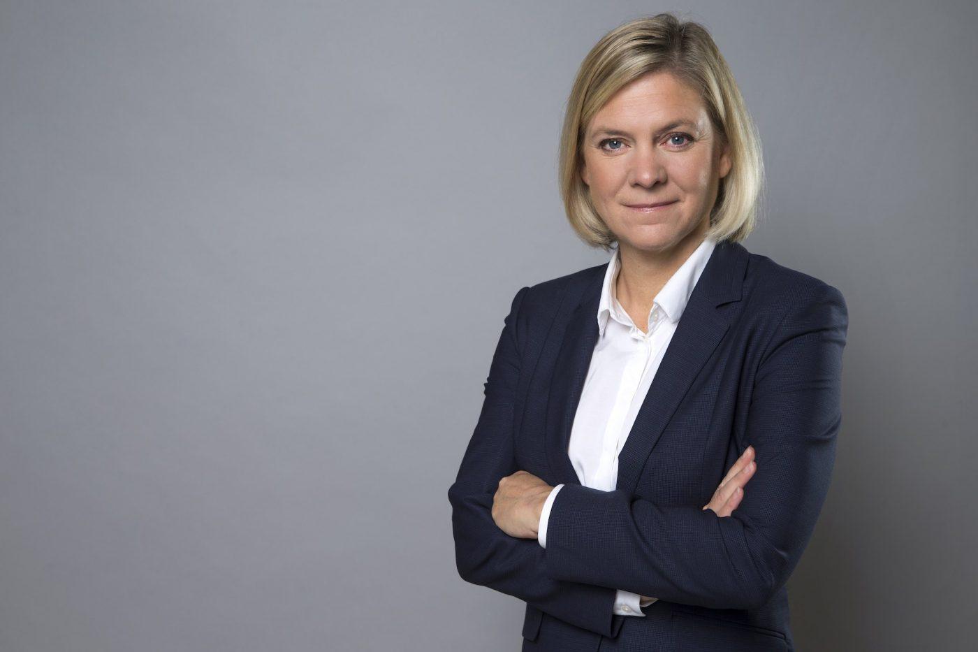 Magdalena Andersson akassa och coronaviruset
