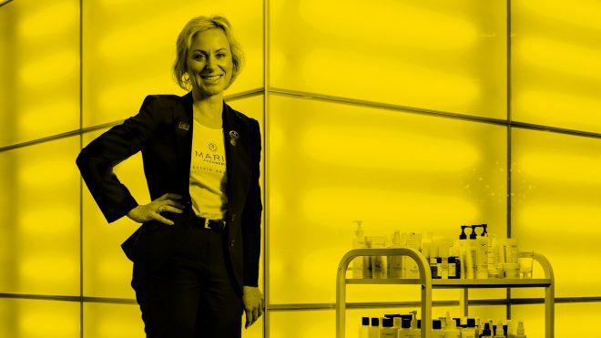 Maria Åkerbergs historia –skönhetsresan började med ilska och konkursen var nära