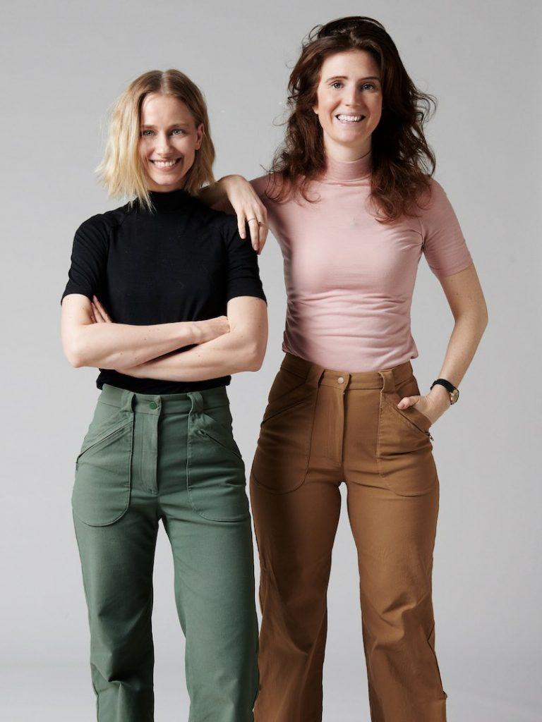 Maria och Jamina Astrid Wild