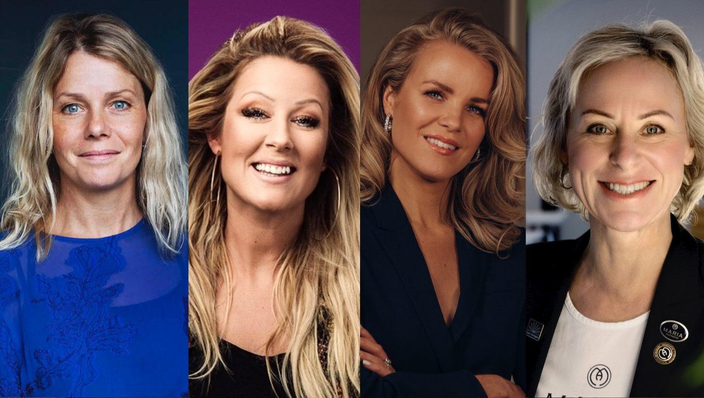 Sveriges främsta kvinnliga entreprenörer